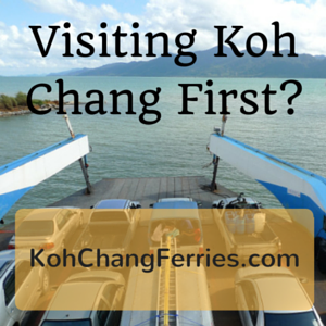 Koh Chang Ferry Guide and Timetables