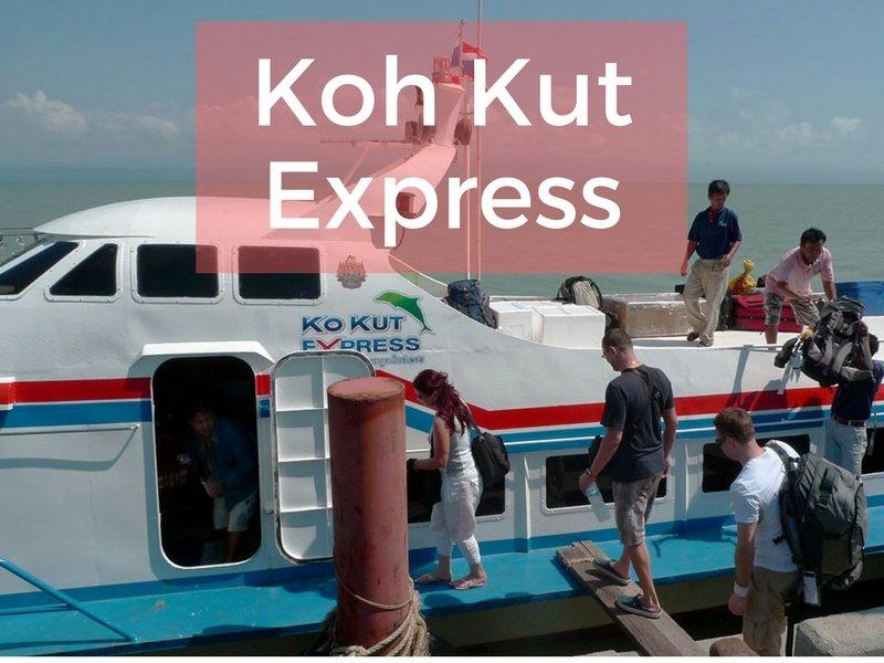 Koh Kut Express boat to Koh Kood island