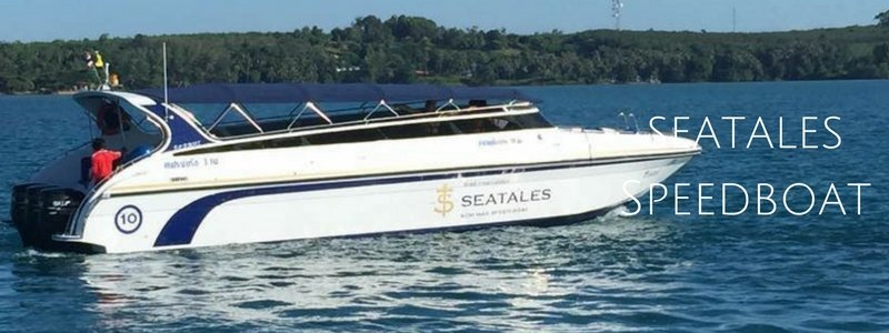 Seatales run speedboats to Koh Mak from Laem Ngop