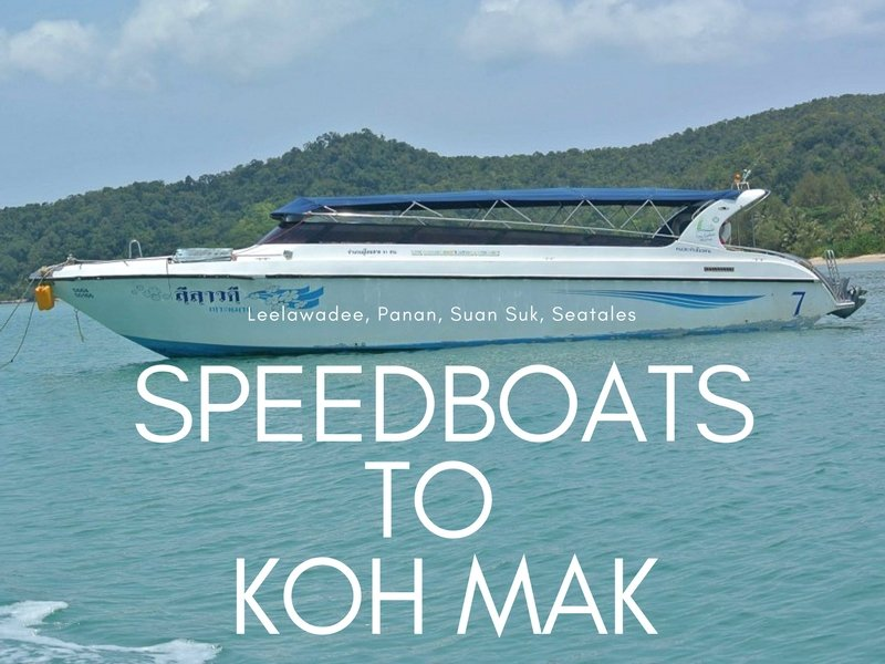 boats to Koh Mak from Laem Ngop