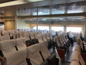 Star HiSpeed Ferry seating