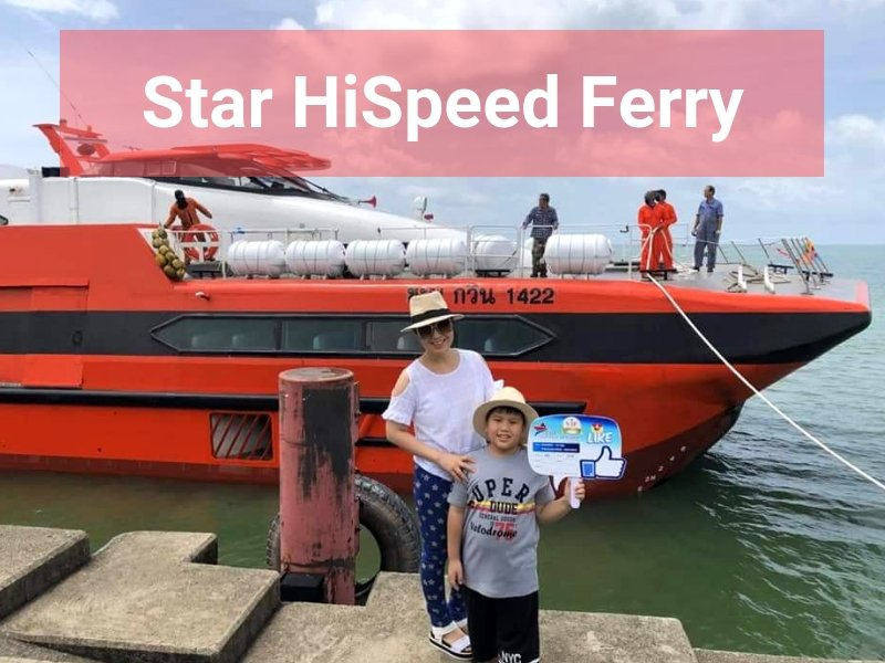 Star Hi Speed Ferry to Koh Kood