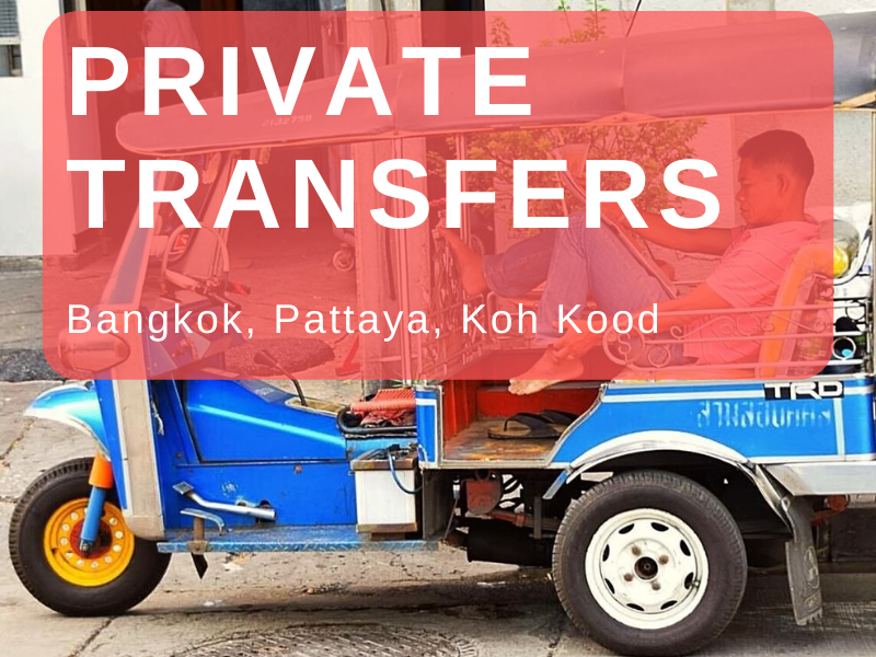 Private transfer to Koh Kood by car or minibus